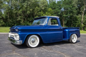 1965-gmc-c10-pickup-custom-paint-lowered-327-v8-5-speed-transmission-1